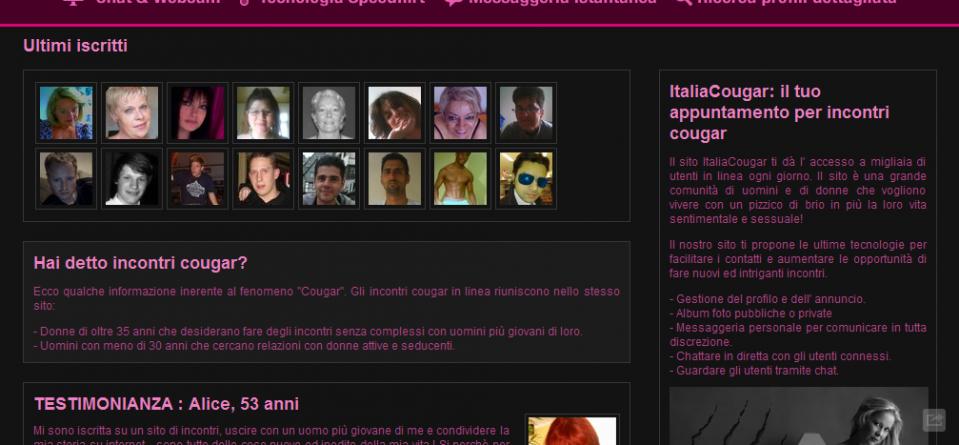 ANNUNCI DONNE MATURE ITALIA
