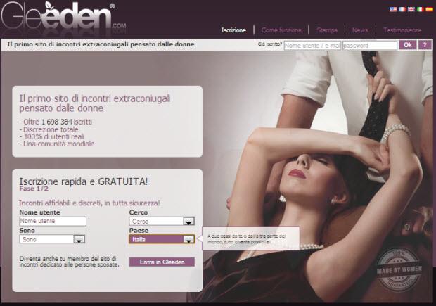 video donne erotiche siti seri per single gratis