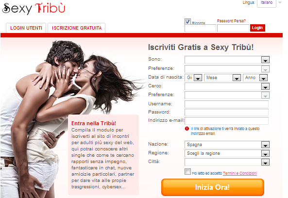 CHAT GRATIS PER SINGLE SEXY TRIBU