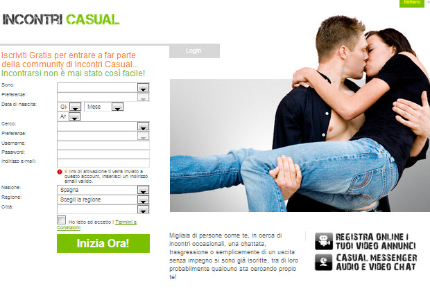 CHAT GRATIS PER SINGLE INCONTRI CASUAL
