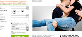 Incontri italiani al fulmicotone online