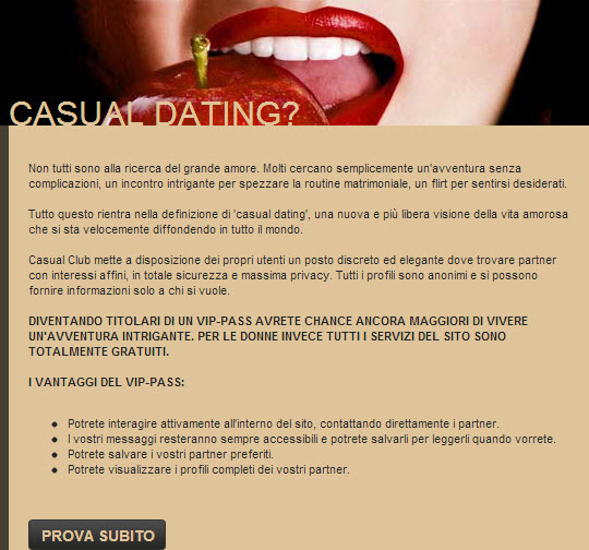 video erotici italiani cerco donne per incontri