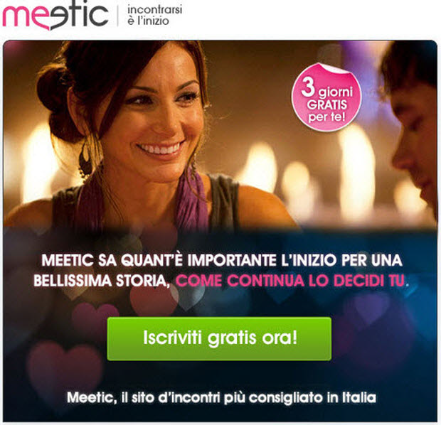 DONNE PER APPUNTAMENTO MEETIC INCONTRI