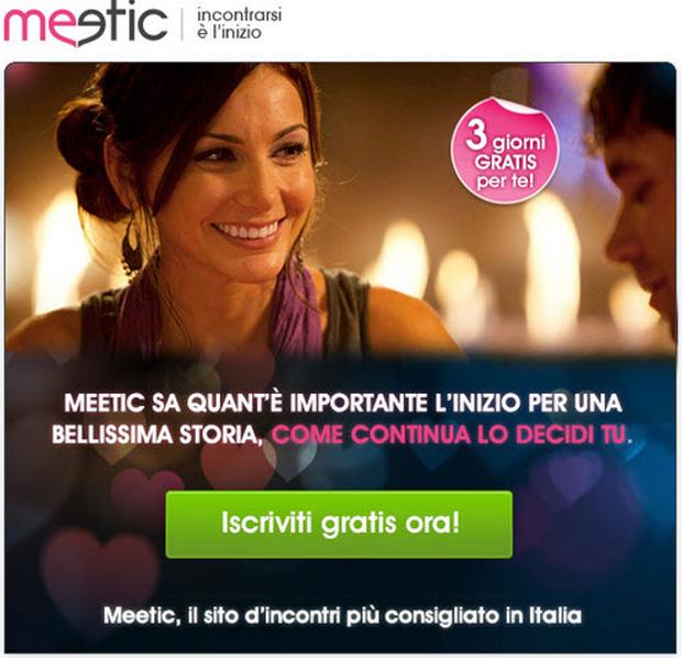 Iscriversi a Meetic