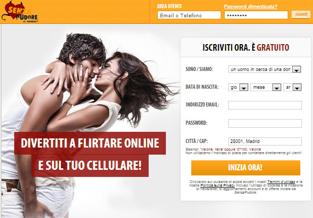 scopare in hotel chat signore